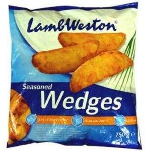 Картофельные дольки в кожуре Lamb Weston 0,75кг