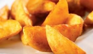 Картофельные дольки с кожурой большой выбор