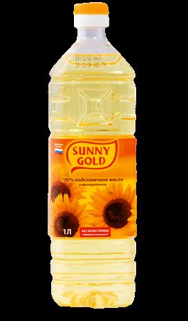 Санни Голд масло растительное 1л