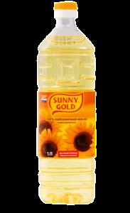 Подсолнечное масло Sunny Gold
