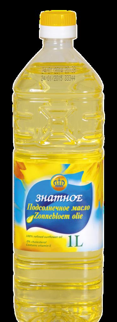 Знатное рафинированное масло